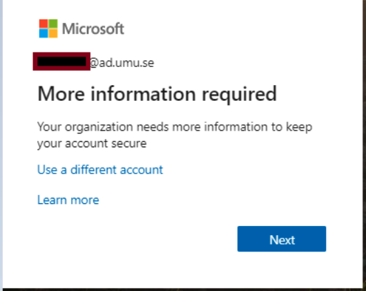 Multifactor authentication login Office 365