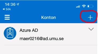 Microsoft Authenticator add acount