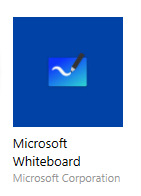 Icon Representing App for Microsoft Whiteboard