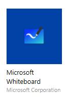 Ikon föreställande app för Microsoft Whiteboard