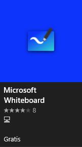 Ikon som visar hur Whiteboard ser ut i Microsoft store