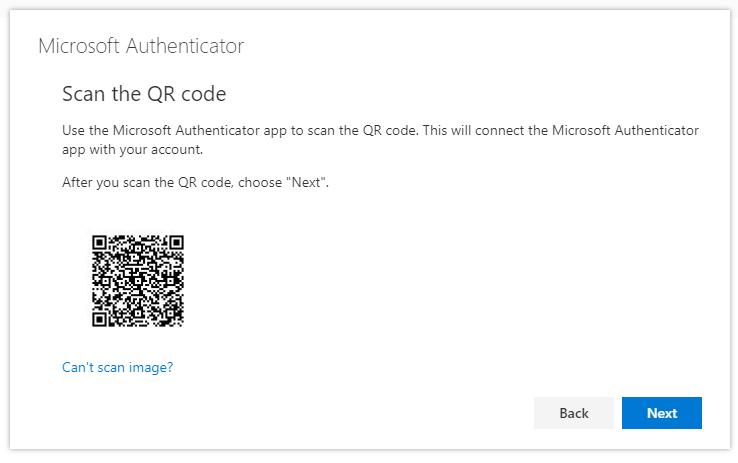 Scan Qr code Authenticator