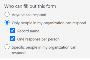 adjust settings in forms - who can fill out this form