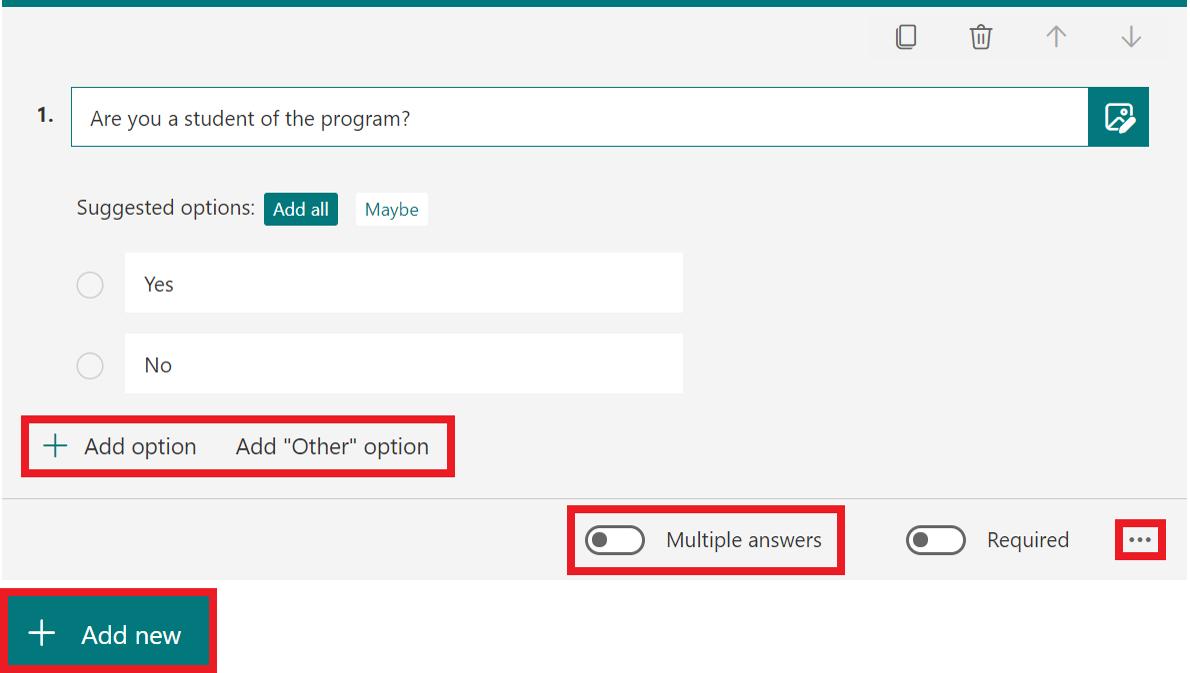 choice question full decription