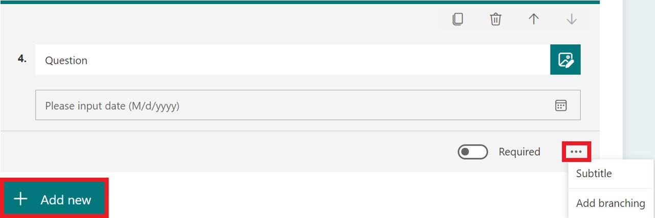 date question full decription