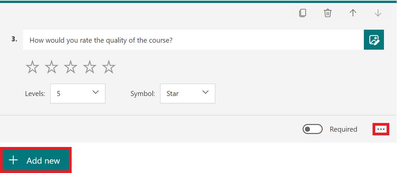 rating question full decription